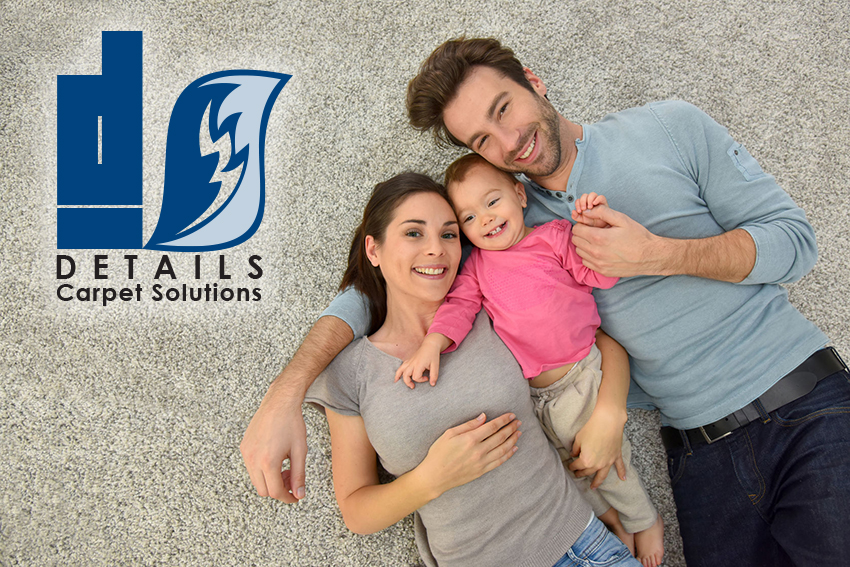 Happy family after best carpet cleaner in Reno / Sparks, Details Carpet Solutions came